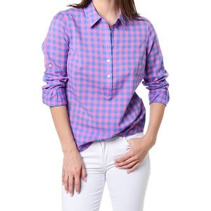 Vineyard Vines Three Color Gingham Popover